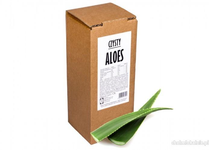 Sok z aloesu 1,5l 100% tłoczony na zimno bez cukru dla zdrowia naturalny