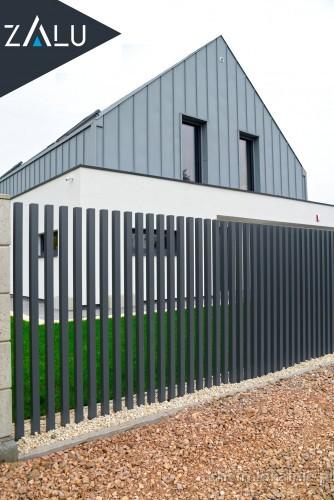 ZALU | Produkcja i montaż ogrodzeń aluminiowych